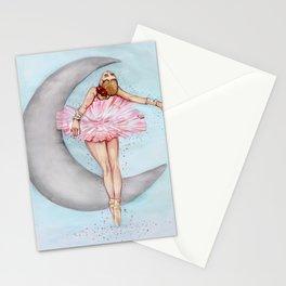 Ballerina in Pink Tutu Stationery Cards