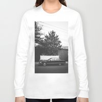 old school Long Sleeve T-shirts featuring Old School by I am Dappa