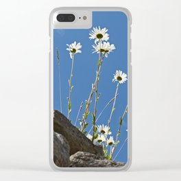 rising up to the sky Clear iPhone Case