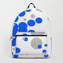 Blue Grey Burst Backpack