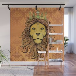 King Lion Wall Mural
