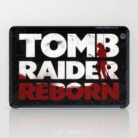 tomb raider iPad Cases featuring Tob Raider I. by 187designz