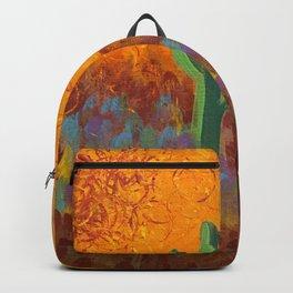 Saguaros Dreaming Backpack