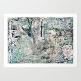 Water Damaged Photo No. 2 Art Print
