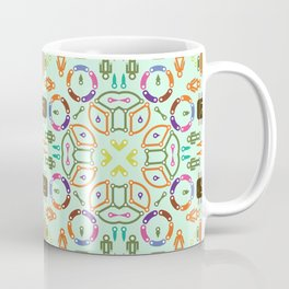 "Seamless pattern in the style of ""printed circuit board"" Coffee Mug"