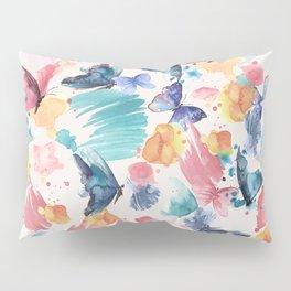 Watercolor butterflies Pillow Sham