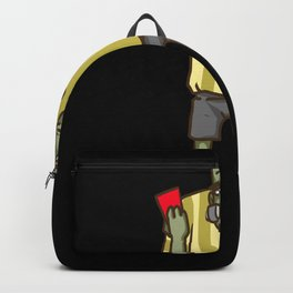 Referee Soccer Funny Backpack