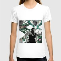 model T-shirts featuring model by Juliana Polippo