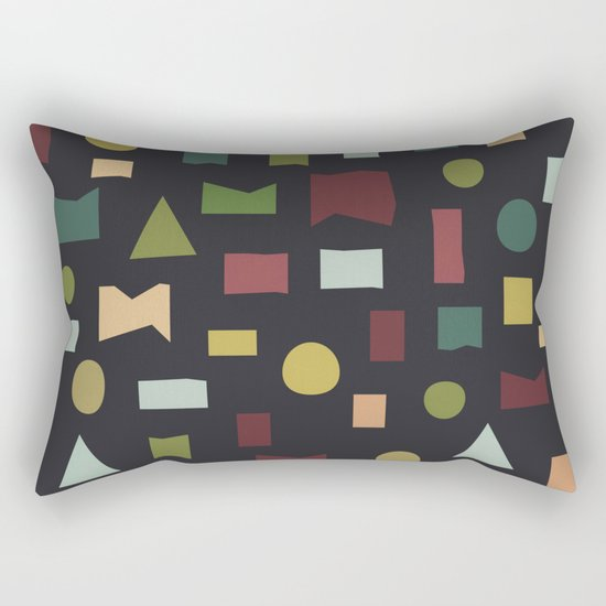 The Pattern Gets Worse II Rectangular Pillow