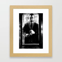 ...And Order Is Thereby Preserved Framed Art Print