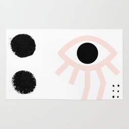 Eye Movements Rug