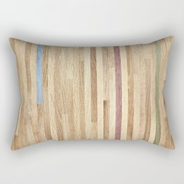 Wooden wall panel Rectangular Pillow