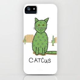 """""""Catcus"""" Cactus iPhone Case"""