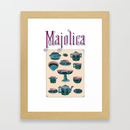 1884 Etruscan Catalogue of Majolica, Page 13 Framed Art Print