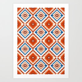Navajo Five Art Print