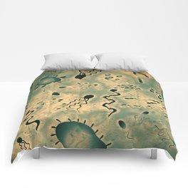 Microscopic Microbes Comforters