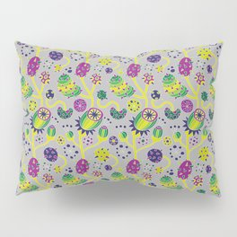 Predatory Flowers Pillow Sham