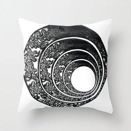 BothSides Throw Pillow