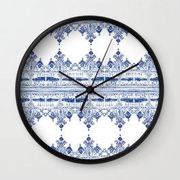 Bohem Blue Wall Clock