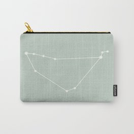 Capricorn Zodiac Constellation - Sage Carry-All Pouch