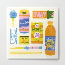 Survial Kit Metal Print