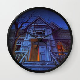 Welcome to Dead House Wall Clock
