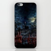 castlevania iPhone & iPod Skins featuring Castlevania: Vampire Variations- Gates by LightningArts