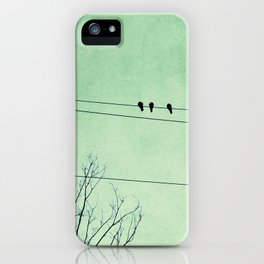 Birds on a Wire, no. 7 iPhone Case