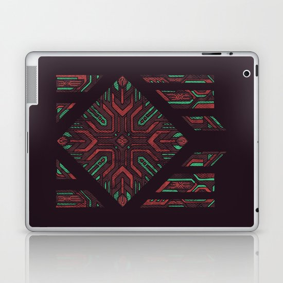 Compartmentalized Laptop & iPad Skin