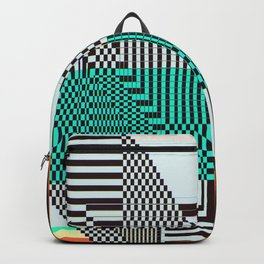 Glitch by Kimberly J Graphics Backpack