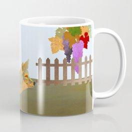 The Fox and the Vineyard Coffee Mug