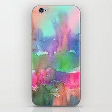 Rainbow Waterfall iPhone & iPod Skin