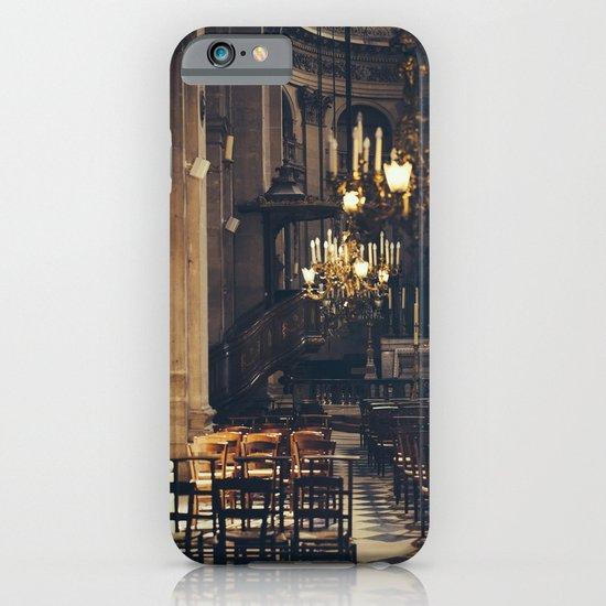 Interior of the Eglise Saint Paul iPhone & iPod Case
