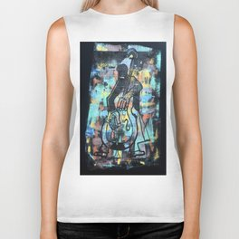 BASS PLAYER 3 Biker Tank