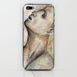 The Temptation in Life iPhone Skin