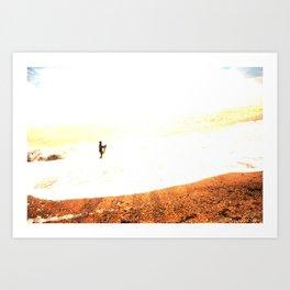 14/ Silver Surfer by Jack Shoobridge Art Print