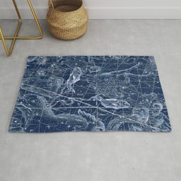 Pisces sky star map Rug