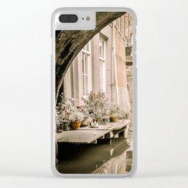 Dutch Cat Clear iPhone Case