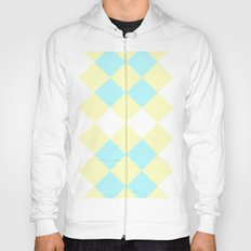 Checkers Yellow/Blue Hoody