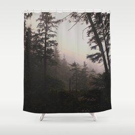 Oregon Coastal Forest Shower Curtain