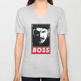 Big Boss - Metal Gear Solid Unisex V-Neck