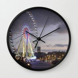 Wheel Concorde Paris Wall Clock