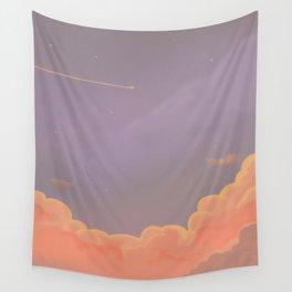kawaii sky pastel sunset Wall Tapestry