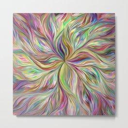 Color abstract Art Metal Print