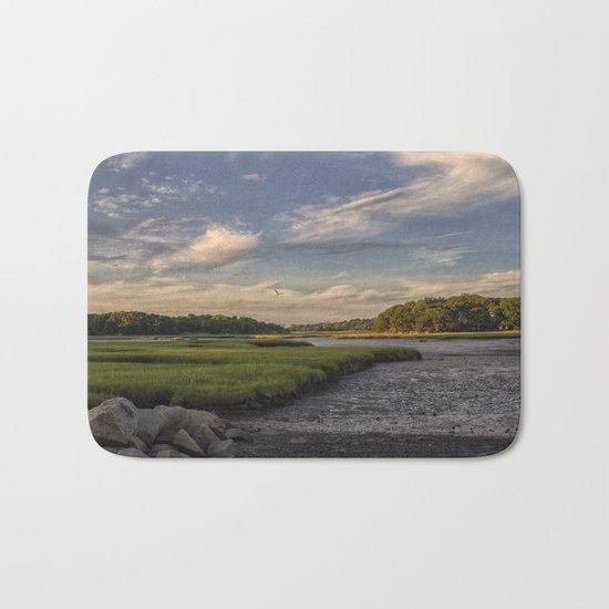 Summer Marsh Sunset Bath Mat