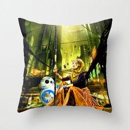 Underworld Blues - StarWars Throw Pillow