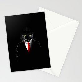 Mobster Cat Stationery Cards