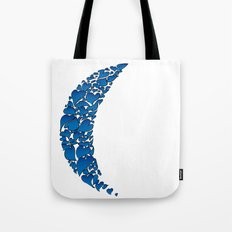 A Moon full of hearts 2 Tote Bag