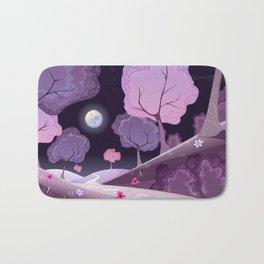 Violet Moon Bath Mat