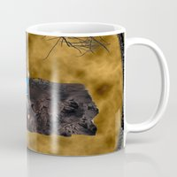 book cover Mugs featuring Book Cover Illustration by Conceptualized